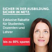 Exklusive Rabatte für Studenten, Dozenten und Lehrer