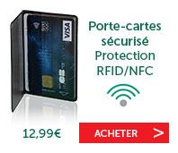 Porte-cartes sécurizé