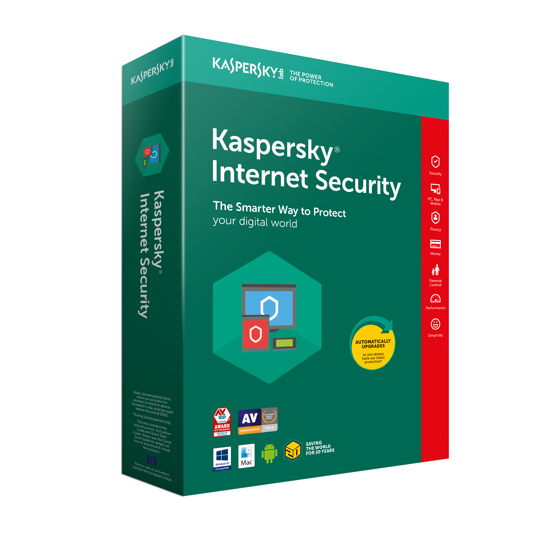 Australia Kaspersky Internet Security Multi-Device 2019 - 3 Devices / 1 Years