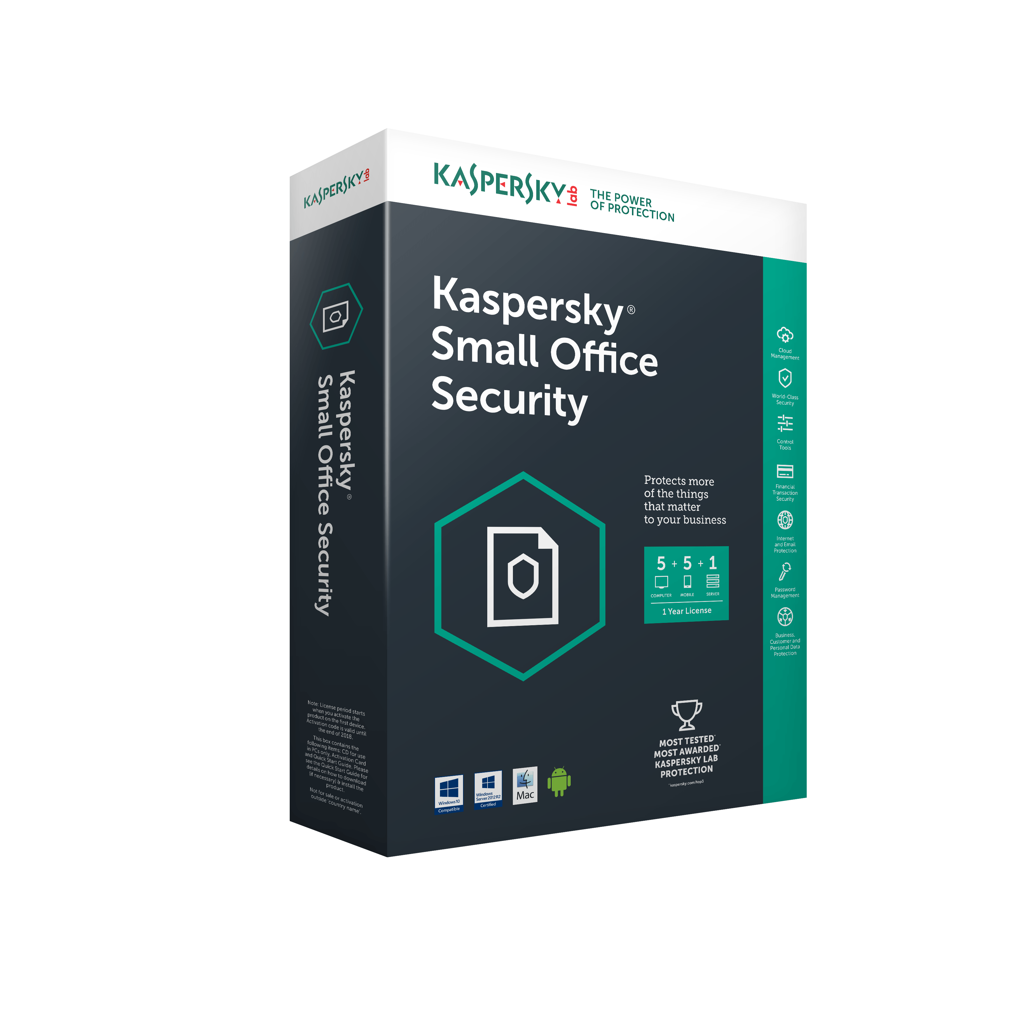 Globalstore Kaspersky™ Small Office Security – 5 Users / 2 Year